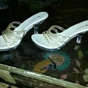 Clear light up heels